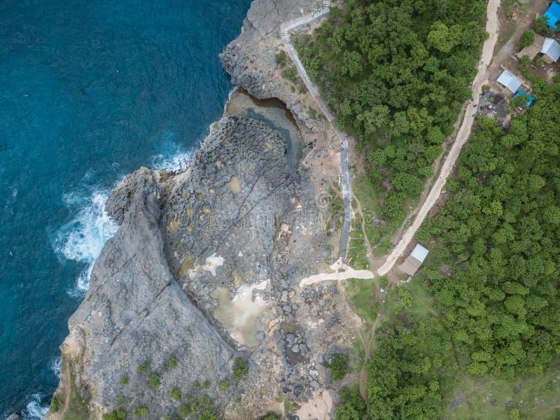 r Île de Nusa Penida, Indonésie photos stock