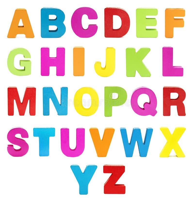 r Αλφάβητο που απομονώνεται ζωηρόχρωμο στο λευκό Κεφαλαίο γράμμα στοκ εικόνα
