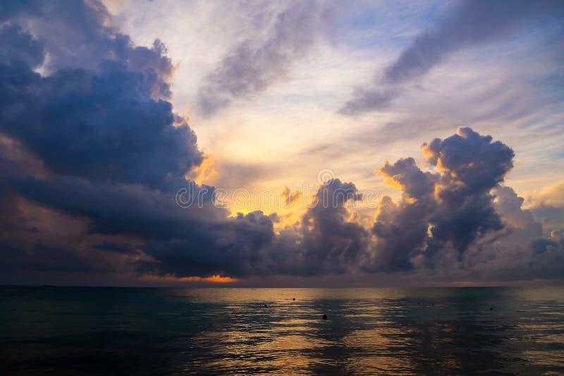 r Ανατολή στις παραλίες στη Δομινικανή Δημοκρατία στοκ φωτογραφίες