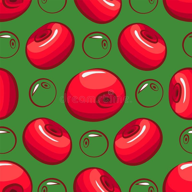 r Μια διασπορά των κερασιών απεικόνιση αποθεμάτων
