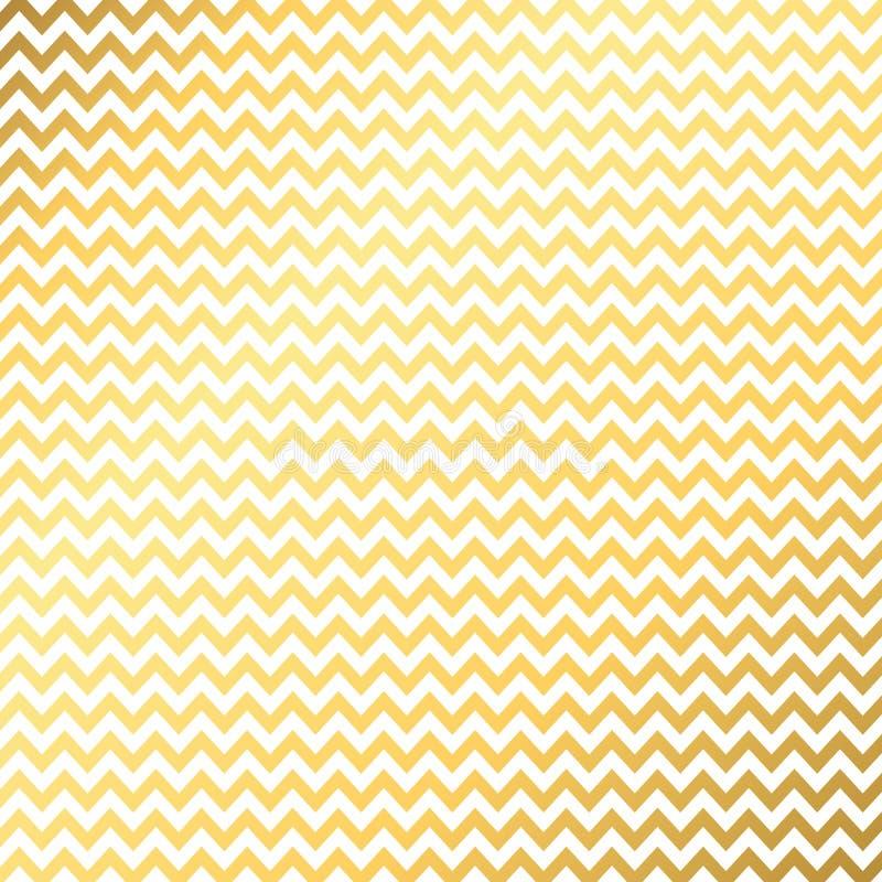 r Υπόβαθρο με τα χρυσά κύματα ελεύθερη απεικόνιση δικαιώματος