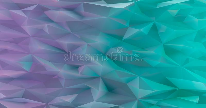r Абстрактная предпосылка красочных треугольников или полигонов Графическая иллюстрация для вашего дела иллюстрация штока