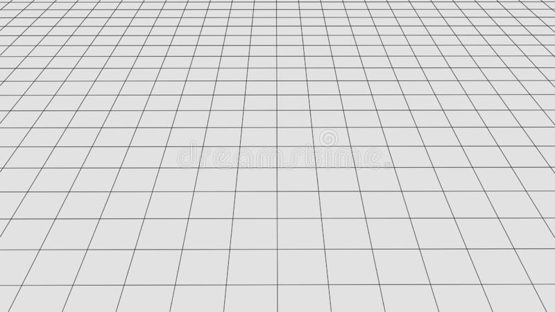 r Абстрактный ландшафт wireframe вектора Абстрактная предпосылка сетки r бесплатная иллюстрация