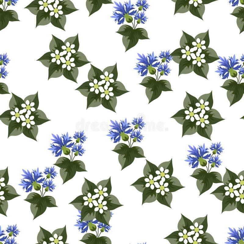 r Заводы и цветки для вектора предпосылки плоско иллюстрация вектора