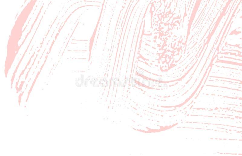 r Огорчите розовую грубую трассировку Fantast иллюстрация штока