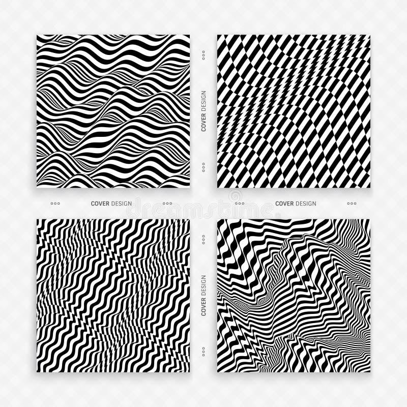 r Черно-белый дизайн E r r иллюстрация вектора