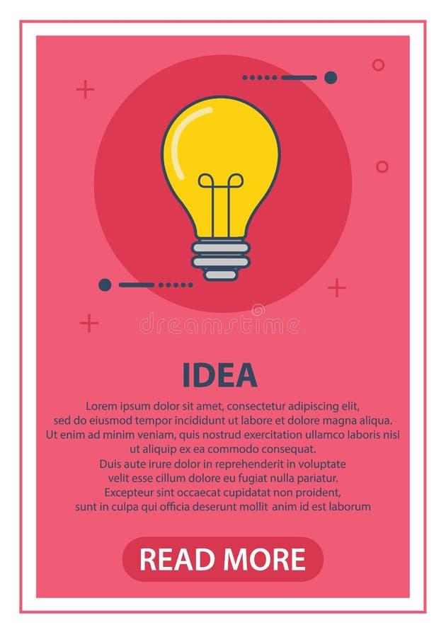 r 与光芒亮光的电灯泡 能量和想法标志 贺卡,补丁,印刷品的装饰为 免版税图库摄影