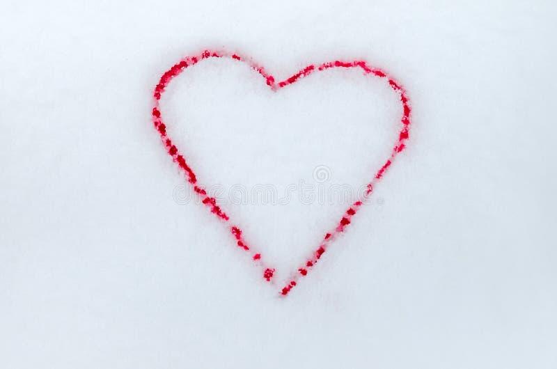 r 华伦泰的浪漫爱,永恒爱 r 两血淋淋的心脏 免版税库存图片