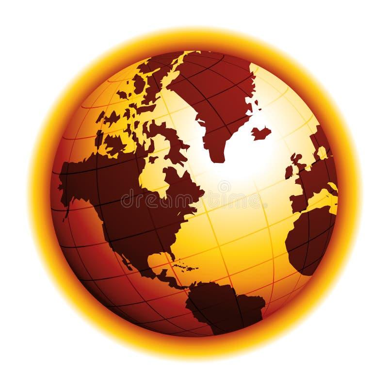r 天旱作用 气候变化 环境危险传染媒介象 美国看法 库存例证