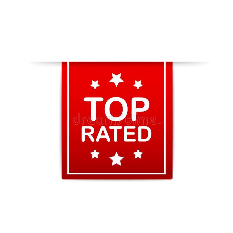 r 最高评价的产品传染媒介封印例证 消费者回顾证章 皇族释放例证