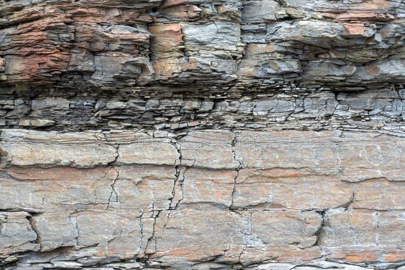 r 板岩石头层纹理  库存图片