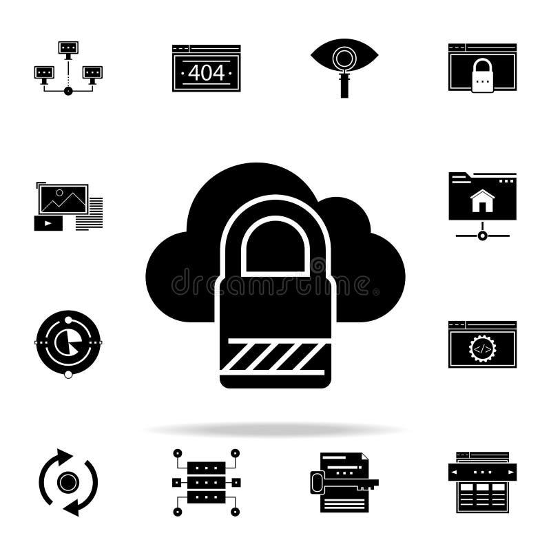 r 网和机动性的网发展象全集 库存例证