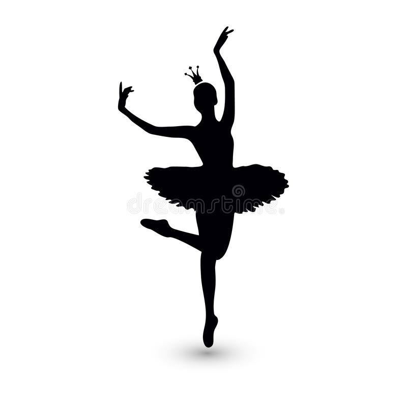 r 芭蕾舞女演员象 皇族释放例证