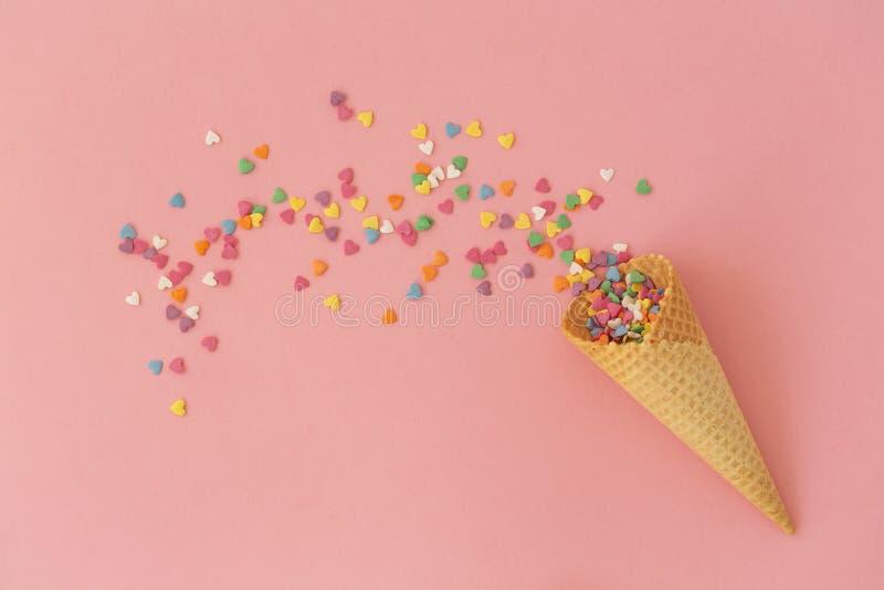 r 驱散多彩多姿的甜点 图库摄影