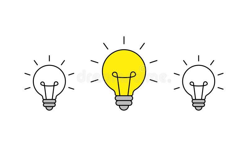 r ?ar?wki ikona brainstorming tw?rczo?? pomys? r?wnie? zwr?ci? corel ilustracji wektora ilustracja wektor