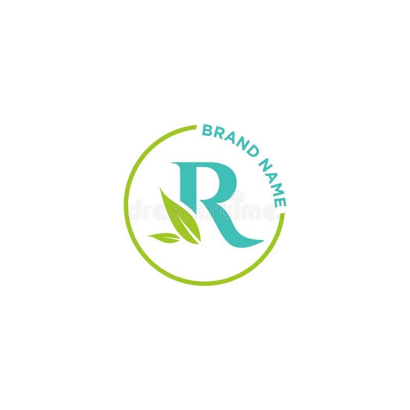 R-Buchstabe-Logo oder Initialen für Geschäft vektor abbildung