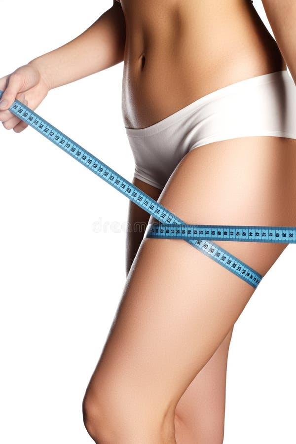 r Corpo bonito da mulher Sh perfeito imagens de stock
