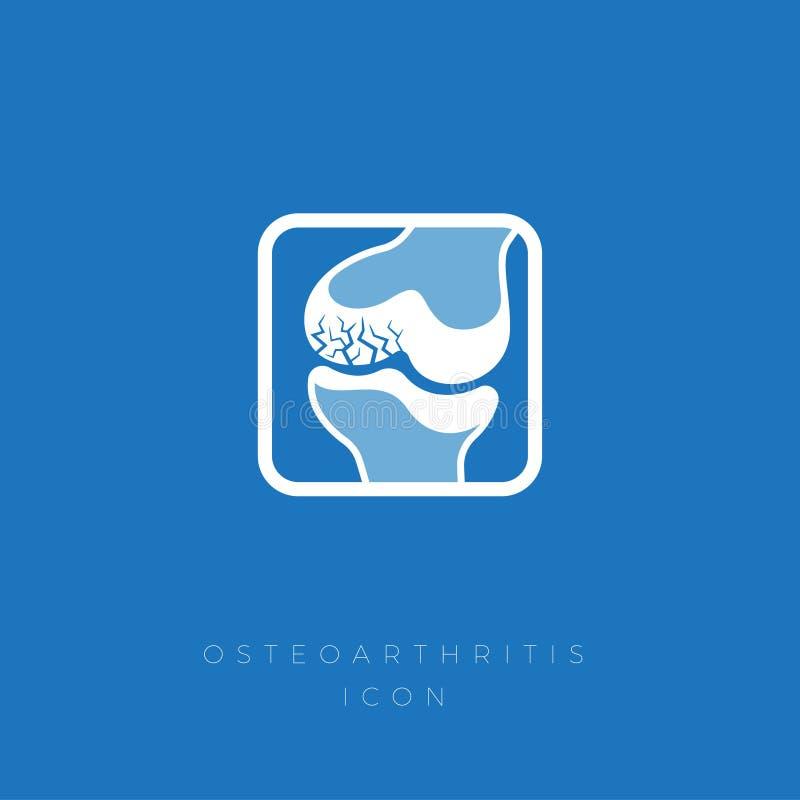r Crepe nella cartilagine nel giunto illustrazione di stock