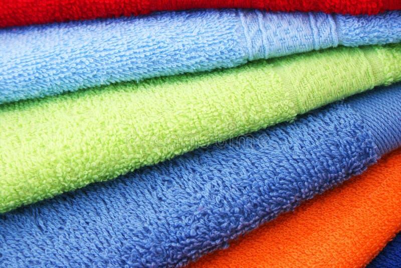 Download Ręczniki zdjęcie stock. Obraz złożonej z puszysty, skąpanie - 31974636