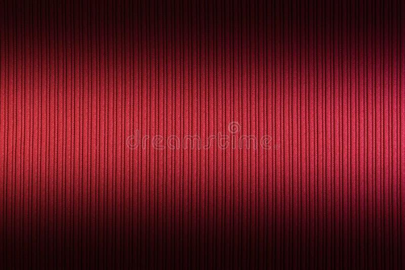 R?d orange f?rg f?r dekorativ bakgrund, ?vre och l?gre lutning f?r randig textur wallpaper konst Design arkivbilder