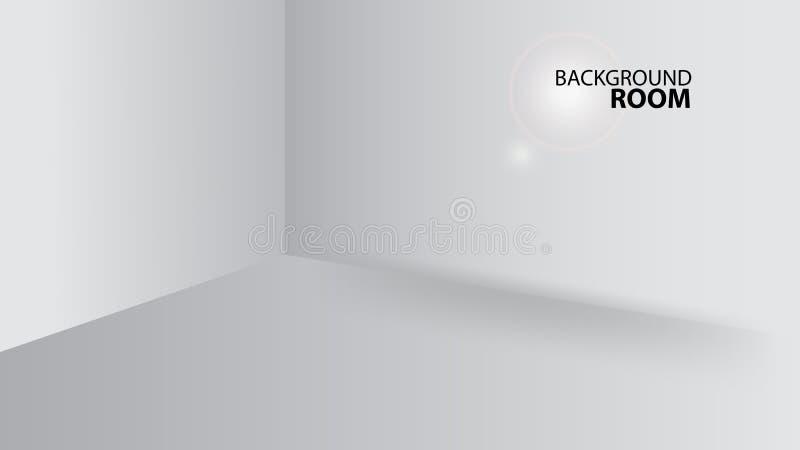 R?d rumbakgrund, tom mall f?r vektor, banerdesign, r?kning, webbsida, annonsering, textur vektor illustrationer