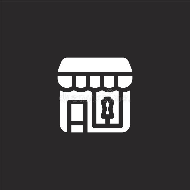 r Gevuld architectuur en stadspictogram voor websiteontwerp en mobiel, app ontwikkeling Architectuur en vector illustratie