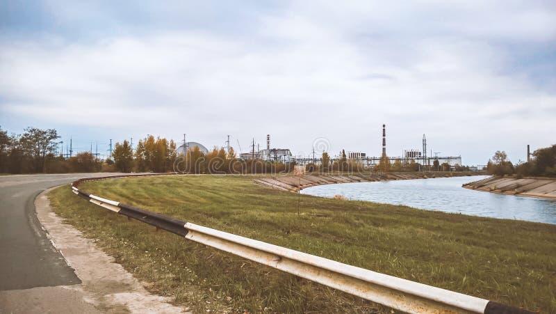 r?gion Ukraine de pouvoir de centrale nucl?aire de monument de m?moire de Kiev de d?sastre de chernobyl photos stock