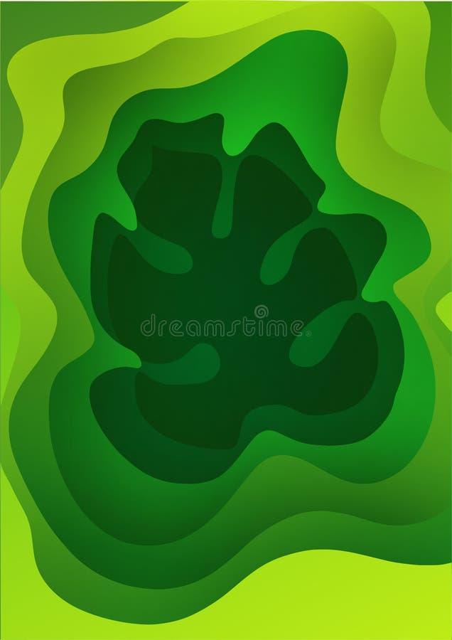 r Gradients tram?s color?s lumineux Feuille de Monstera Exotique botanique, plantes tropicales Conception illustration de vecteur