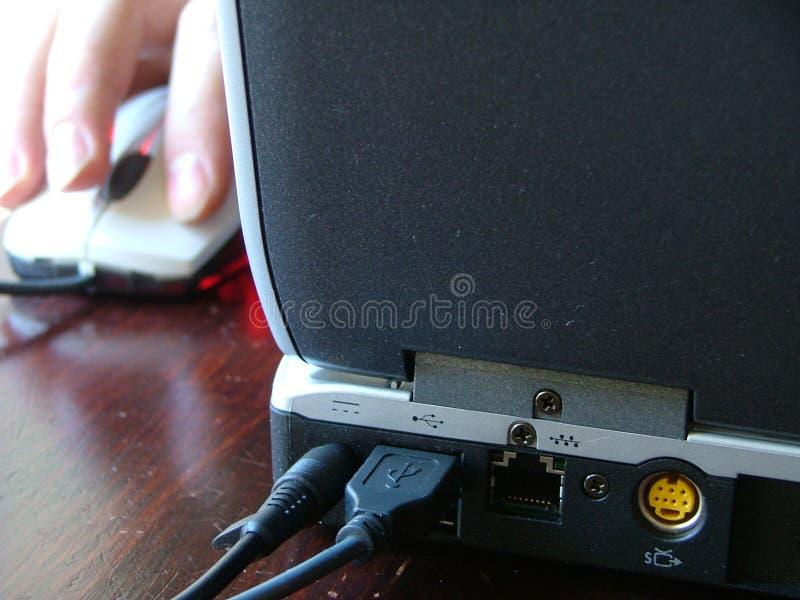 Download Ręka laptopa mysz zdjęcie stock. Obraz złożonej z ślimacznica - 141588