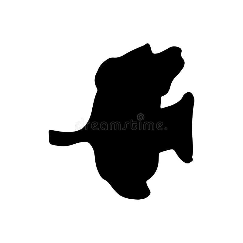 R?ka Rysuj?cy rybi denny doodle Nakre?lenie stylowa ikona Morskie podwodne ro?liien ?wirzepy, zwierz?ta i pojedynczy bia?e t?o mi ilustracji