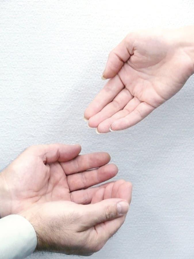 Ręki ludzie. Ruch.
