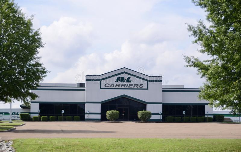 R&L Carriers Trucking Company immagini stock