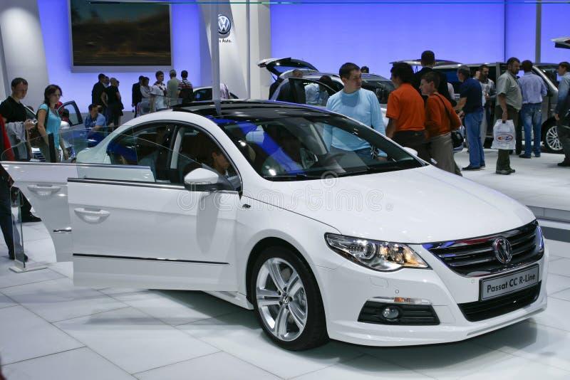 R-Linha de Volkswagen Passat centímetro cúbico imagem de stock royalty free