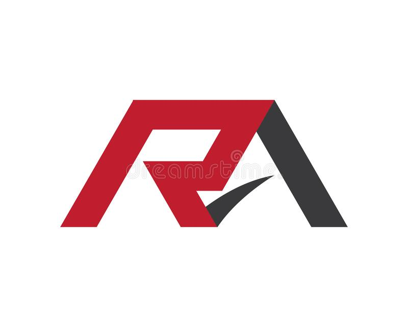 R listu logo ilustracji