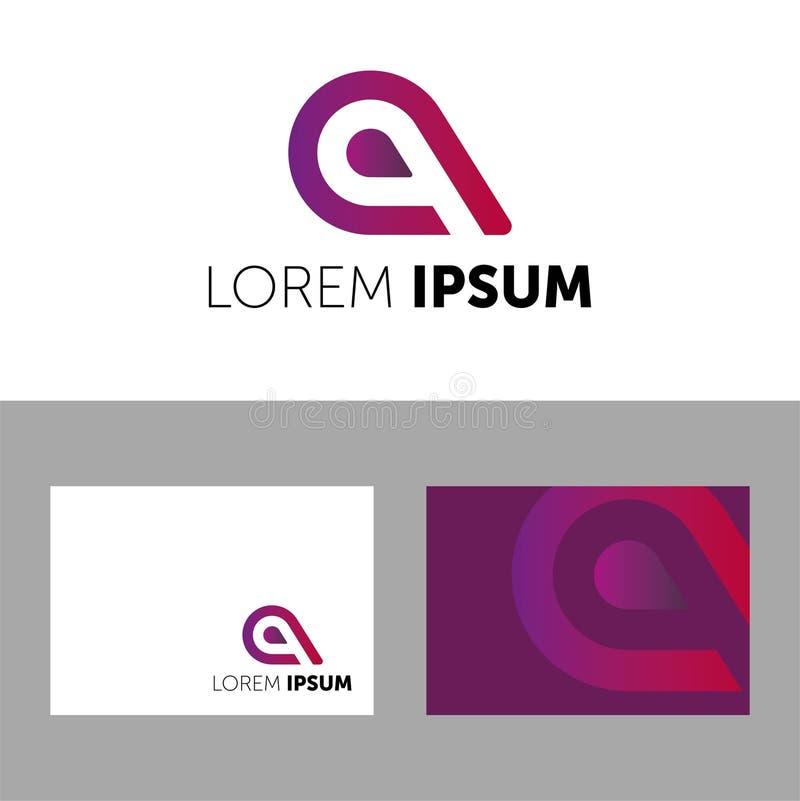 r LOREM IPSUM略写法 您的公司的象 r 颜色象 CREATIVE COMPANY 库存例证