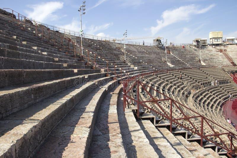 R?mische Arena von Verona stockfotos