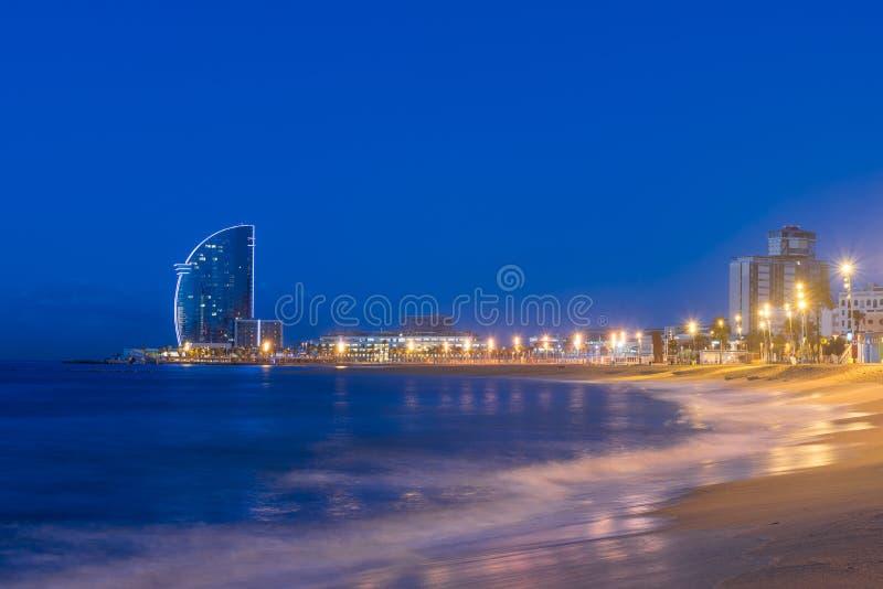 r Morze ?r?dziemnomorskie w Hiszpania obraz royalty free
