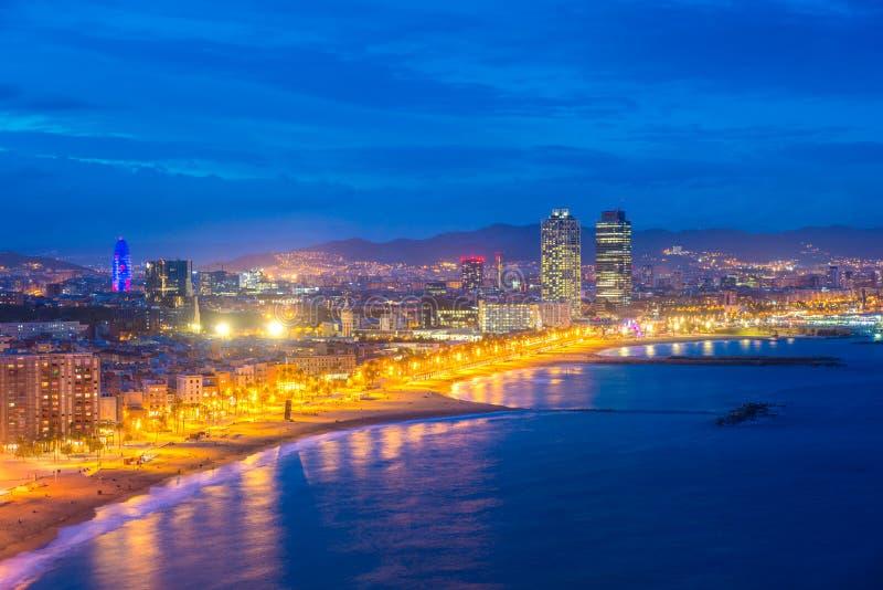 r Morze ?r?dziemnomorskie w Hiszpania fotografia royalty free