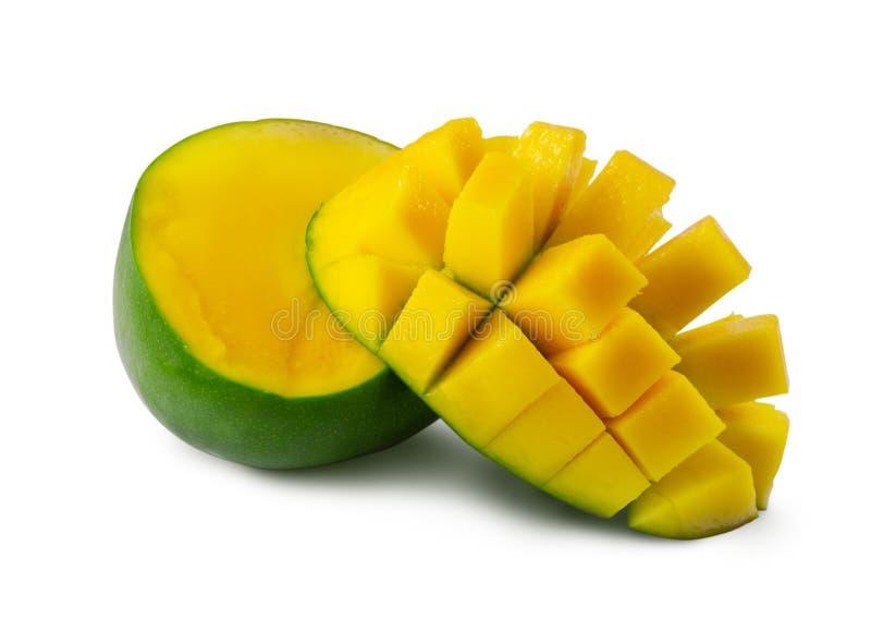 R?ni?ty mango odizolowywaj?cy na bia?ym tle obrazy stock