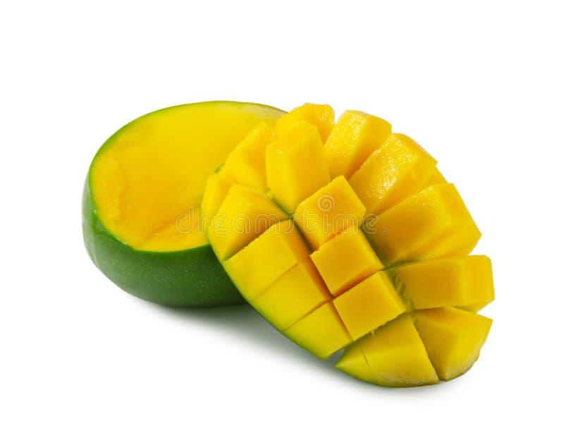 R?ni?ty mango odizolowywaj?cy na bia?ym tle zdjęcie stock