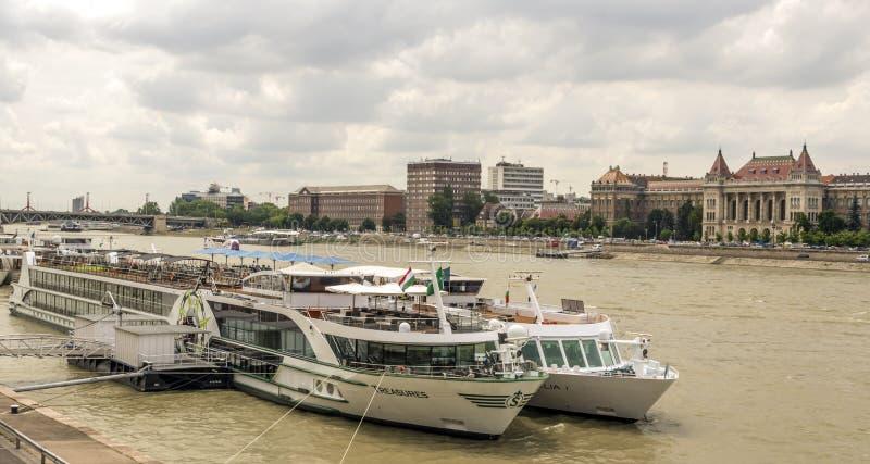 R?o de Danubio fotos de archivo