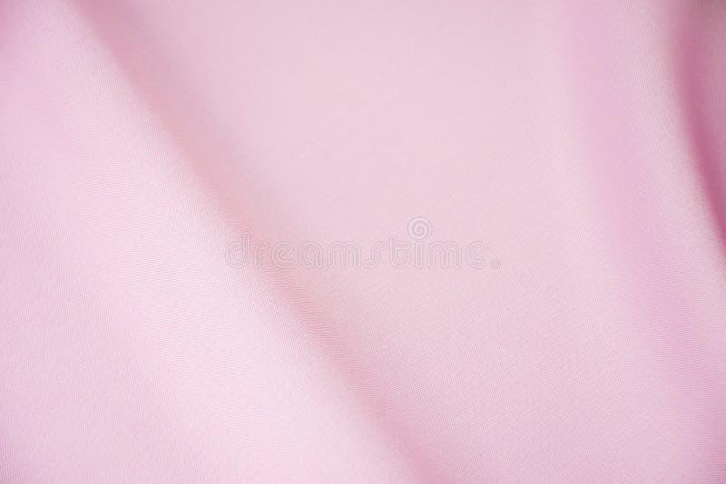 R??owa jedwabnicza tkanina dla t?a lub tekstury obrazy stock