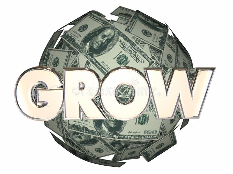 R pieniądze Gniazdowego jajko Więcej Przyrostowy dochód ilustracja wektor