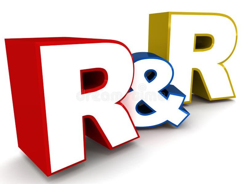 R&R stock illustration. Illustration of performance, word ...