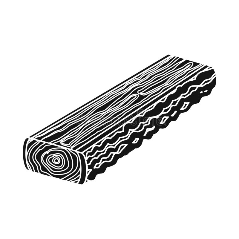 r Raccolta dell'illustrazione di riserva di vettore del legname e del legname royalty illustrazione gratis