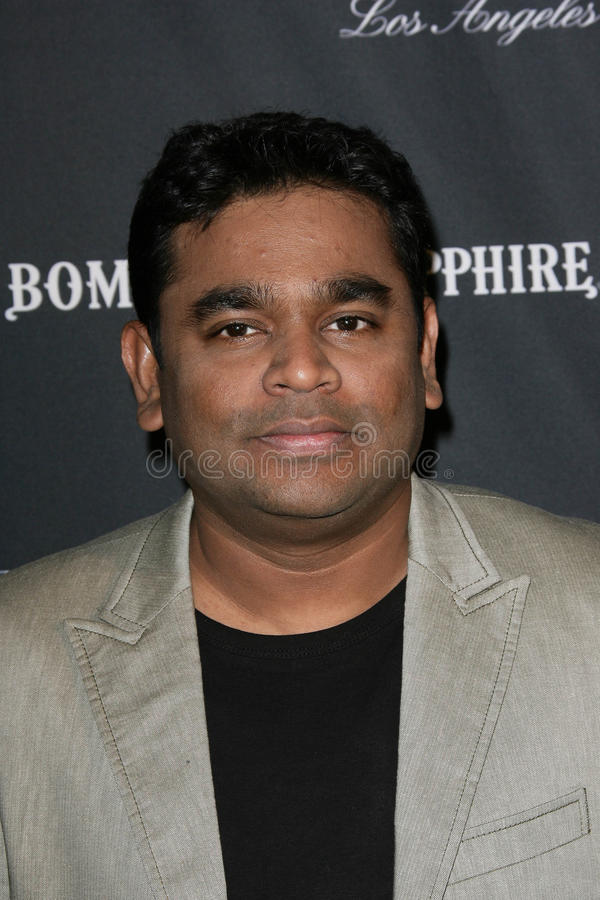 A.R. Rahman stock photo