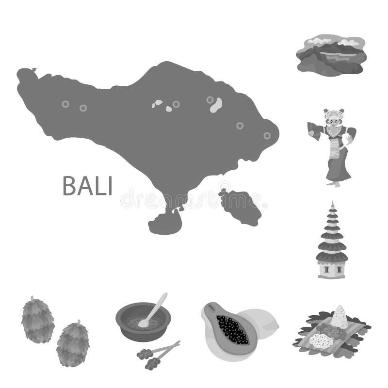 r Samling av asiatet och illustrationen f?r turismmaterielvektor vektor illustrationer