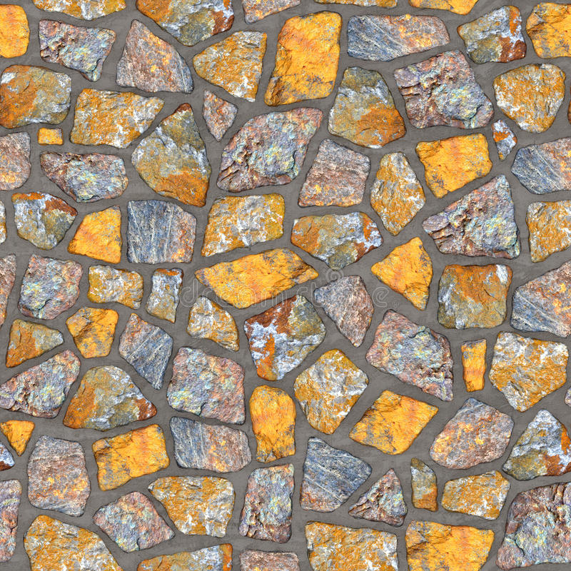 R003 Seamless texture - stone wall vector illustration