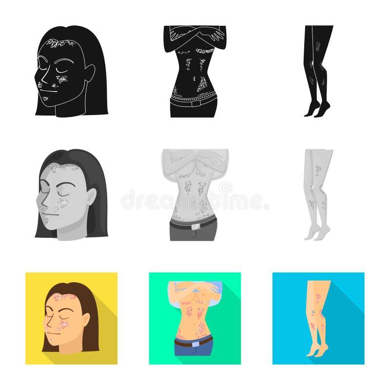 r Set medyczna i choroba wektorowa ikona dla zapasu ilustracja wektor