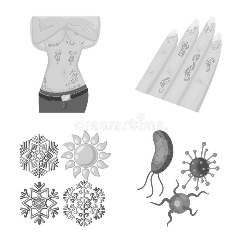 r Set medyczny i choroba akcyjny symbol dla sieci ilustracja wektor
